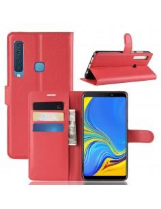 Etui Samsung portefeuille magnetique pour Galaxy A9 2018