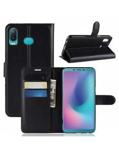 Etui Samsung portefeuille magnetic pour Samsung Galaxy A6s