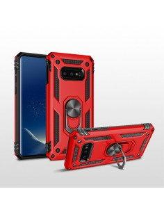 Coque antichoc pour Samsung Galaxy S10E avec partie en metal pour support voiture