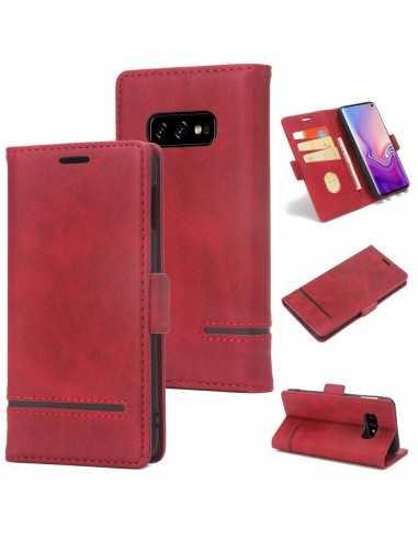 Etui Samsung portefeuille pour Galaxy S10E Style Business
