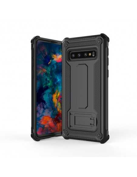 Coque antichoc renforcé Samsung Galaxy S10E avec support Noir