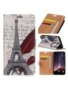 Etui portefeuille Huawei P30 Lite Tour Eiffel