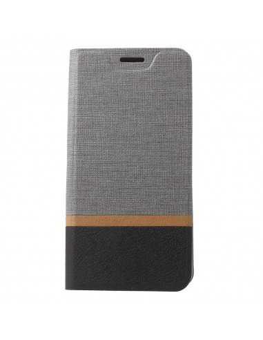 Etui portefeuille Nokia 8 Aspect tissus