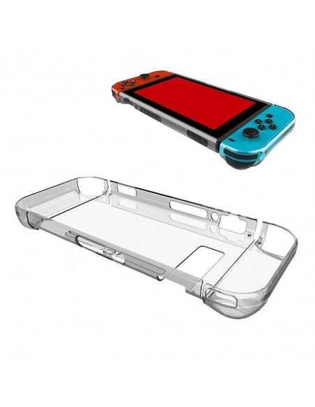 Coque transparente rigide Nintendo Switch Transparent