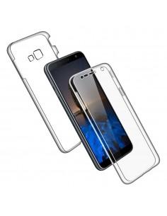 Coque intégrale en silicone Samsung Galaxy J4 Plus et J4 Prime