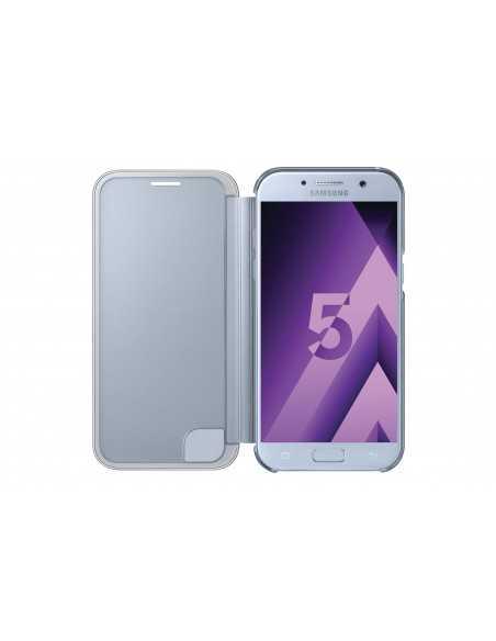 Étui Galaxy A5 2016 clear view cover bleu EF-ZA510