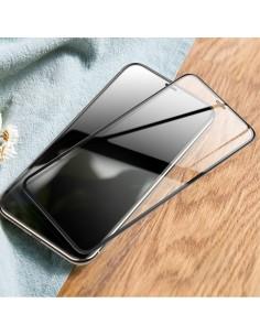Film en verre trempé iPhone 11 et XR 3D Couverture intégrale de l'écran - Transparent
