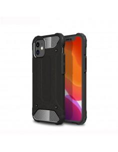Coque antichoc iPhone 12 Mini hybride Armor Guard - Noir